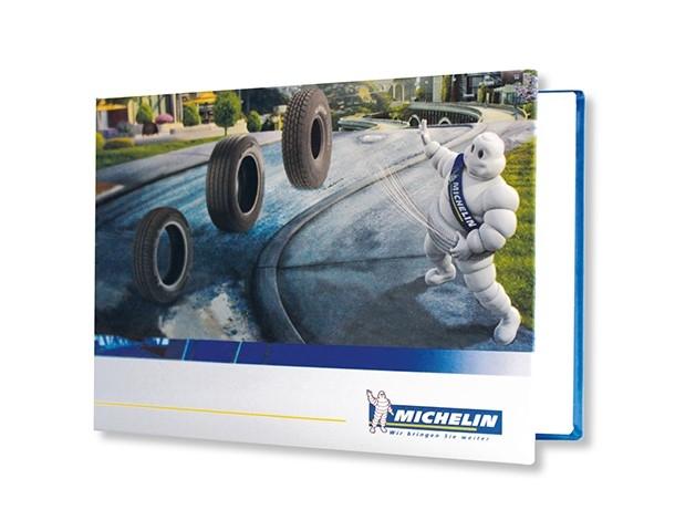 michelin boek logo huisstijl bedrukken corporateprint corporate print printing huisstijl